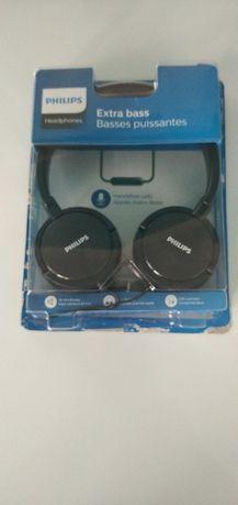słuchawki z mikrofonem Philips