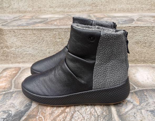36 р. Оригинал кожаные зимние ботинки Ecco ukiuk