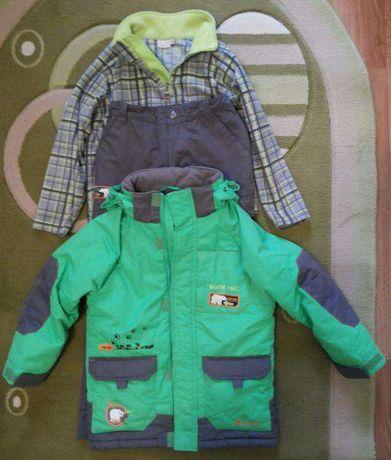 Продам зимнюю куртку + штаны + джемпер OUTVENTURE