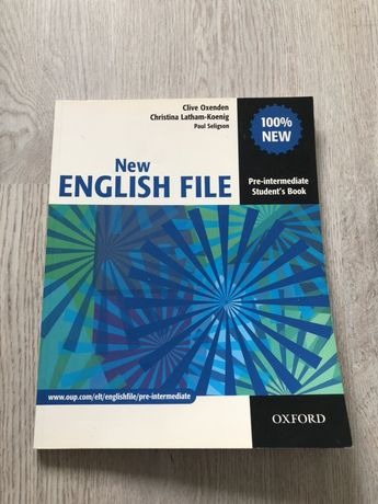 Продам книгу New English File pre-intermediate student's book
