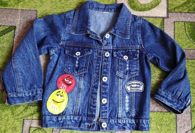 Джинс курточка размер 4