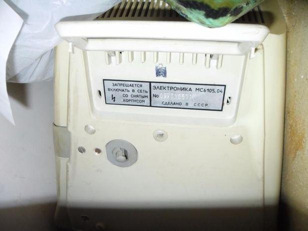 Монитор Электроника мс6105.04