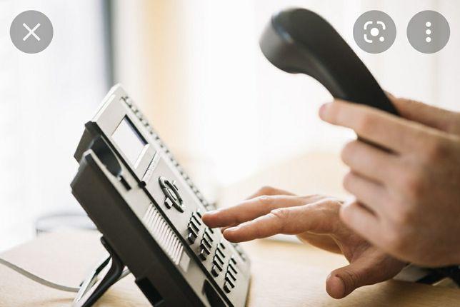 Agendamentos telefônicos para serviços públicos, SEF, hospitais...