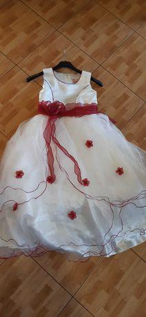 suknia długa 122/128