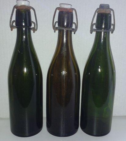 butelki po piwie z Prl-u 0,5 l