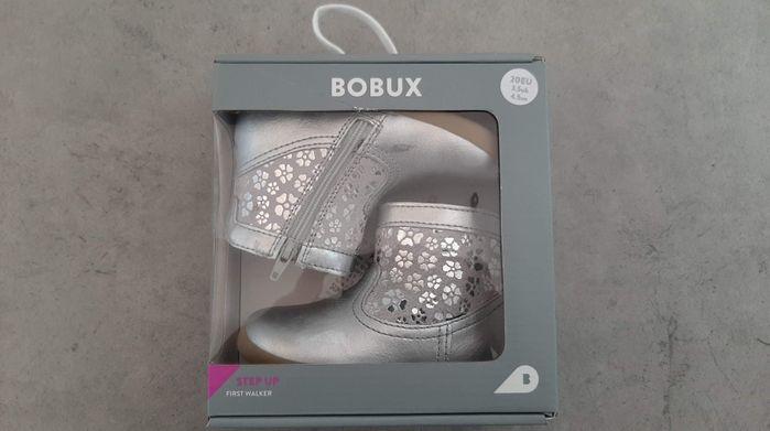 Bobux Step Up Classic Gaze Boot Silver 20 NOWE buty WYSYŁKA W CENIE Czempiń - image 1