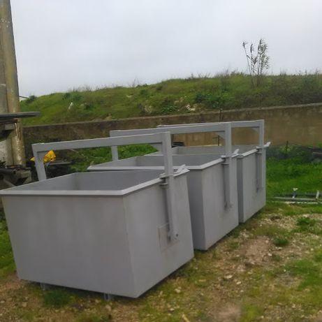 baldes para sucata entulho ou lixo