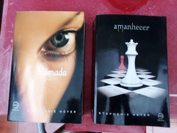 Amanhecer e Nómada - Stephenie Meyer - NOVOS