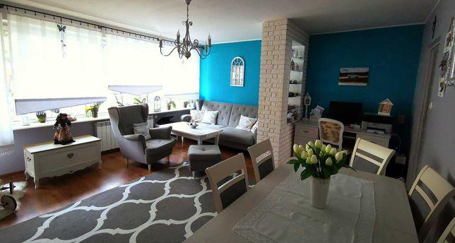 Mieszkanie 60,5m2 - 3 pokoje, umeblowane, wysoki standard, parter