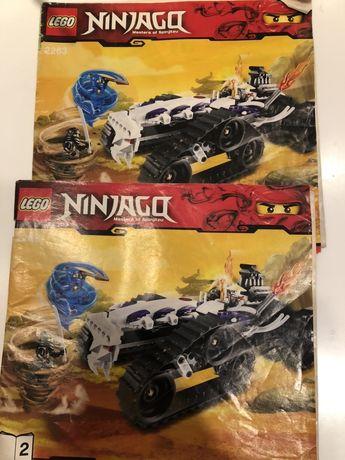 Lego Ninjago oraz Lego Chima - 9442 i 70004 oraz 2263