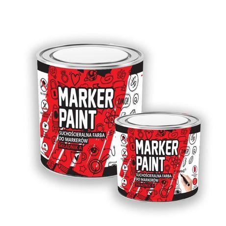 NOWOŚĆ !!! Suchościeralna farba do markerów