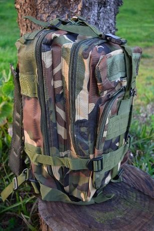 Mochila camuflada militar jungle backpack E.U.A airsoft paintball