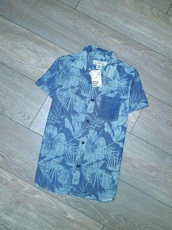Рубашка на 10-11 лет (146см). Фирма H&M.