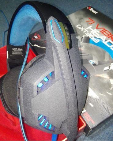 SŁUCHAWKI Trust GXT 363 USB Bass Vibration 7.1 gamingowe