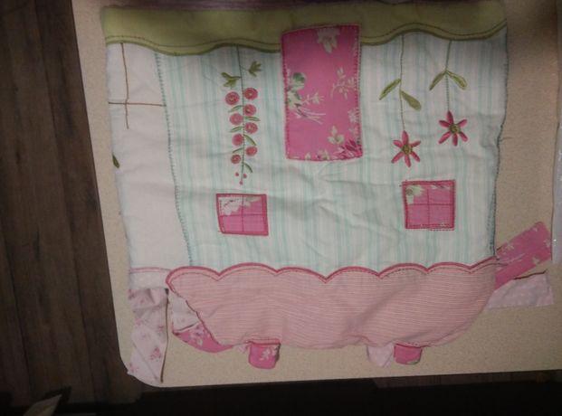 Защита на детскую кроватку + комбинезон