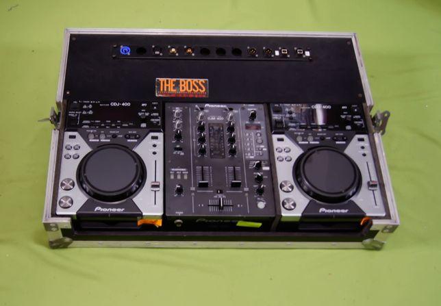Case Walizka Skrzynia Pioneer CDJ 200 / 350 / 400 DJM 250 / 350 / 400
