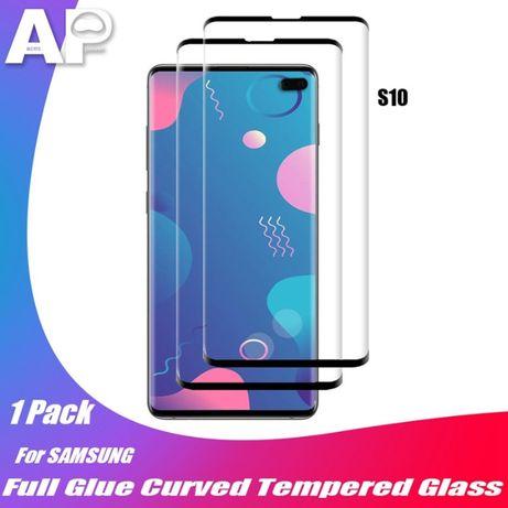 Защитное стекло 3D Full Glue Samsung S9 S10 полная клеевая поверхнось