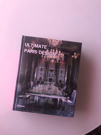 "Livro de design ""Ultimate Paris Design"""