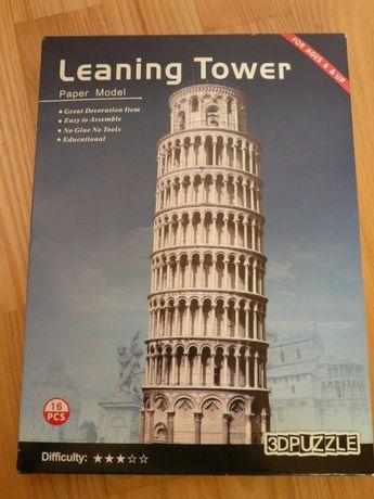PUZZLE 3D Leaning Tower, Krzywa Wieża Piza, Włochy