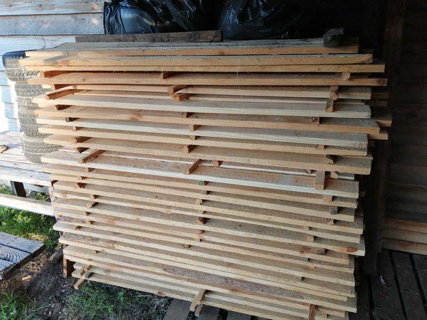 Sprzedam sztachety drewniane
