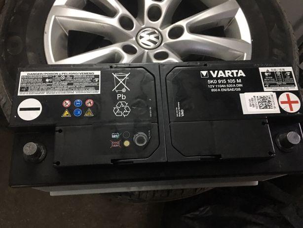 Аккумулятор Varta 110 ah Vag VW Audi Q7 Q5 A7 A6 Q8 Touareg 3.0tdi АКБ