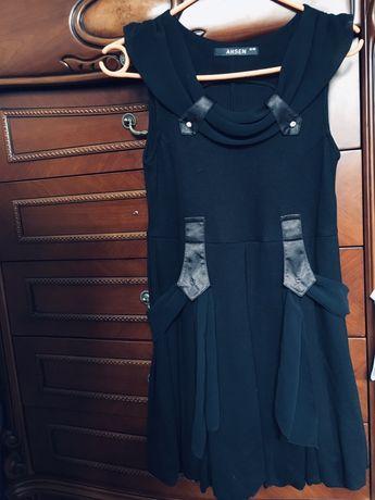 Сарафан школьный платье АHSEN ахсен чёрное