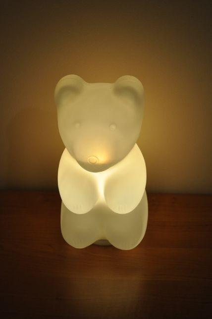 lampka miś do pokoju dziecięcego