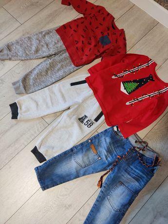 Лот вещей джинсы флис next, реглан начес,штаны начес 2-3 года