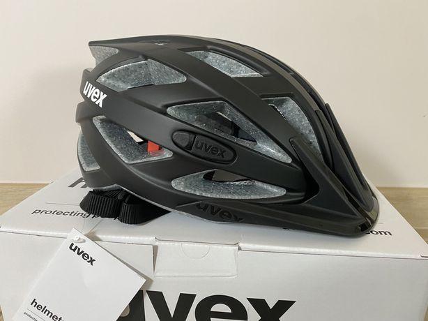 Kask rowerowy Uvex i-vo cc czarny mat