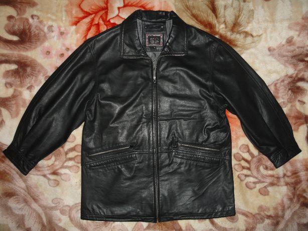 Кожаная куртка «Itallo Leather Fashion» (XXL натуральная кожа лайка)