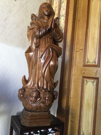 Escultura Nossa Senhora Conceição Octávio Bahia 124cm Arte Sácra Brasi