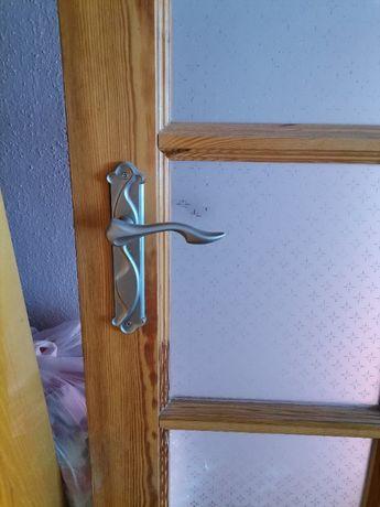 Drzwi pokój lite drewno 80prawe