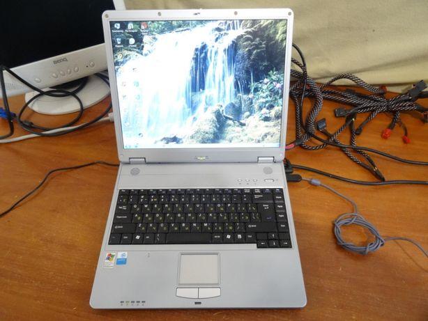 """Ноутбук Prestigio. Pemtium M 1.6GHz/2Gb RAM/80Gb HDD/15"""" Без АКБ"""