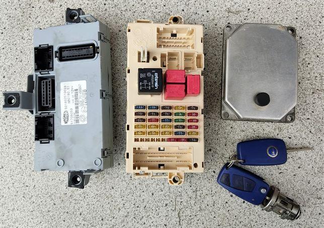 ЭБУ Блок управления двигателем Fiat Stilo 1.6b 55189584 IAW 5NF.T9