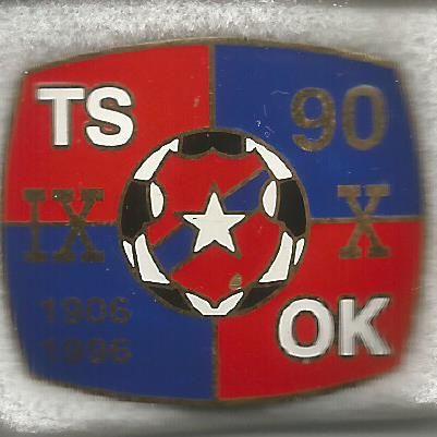 Odznaka jubileuszowa Wisły Kraków - 90 lat