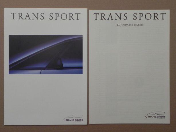Prospekty - PONTIAC TRANS SPORT - 1995 r