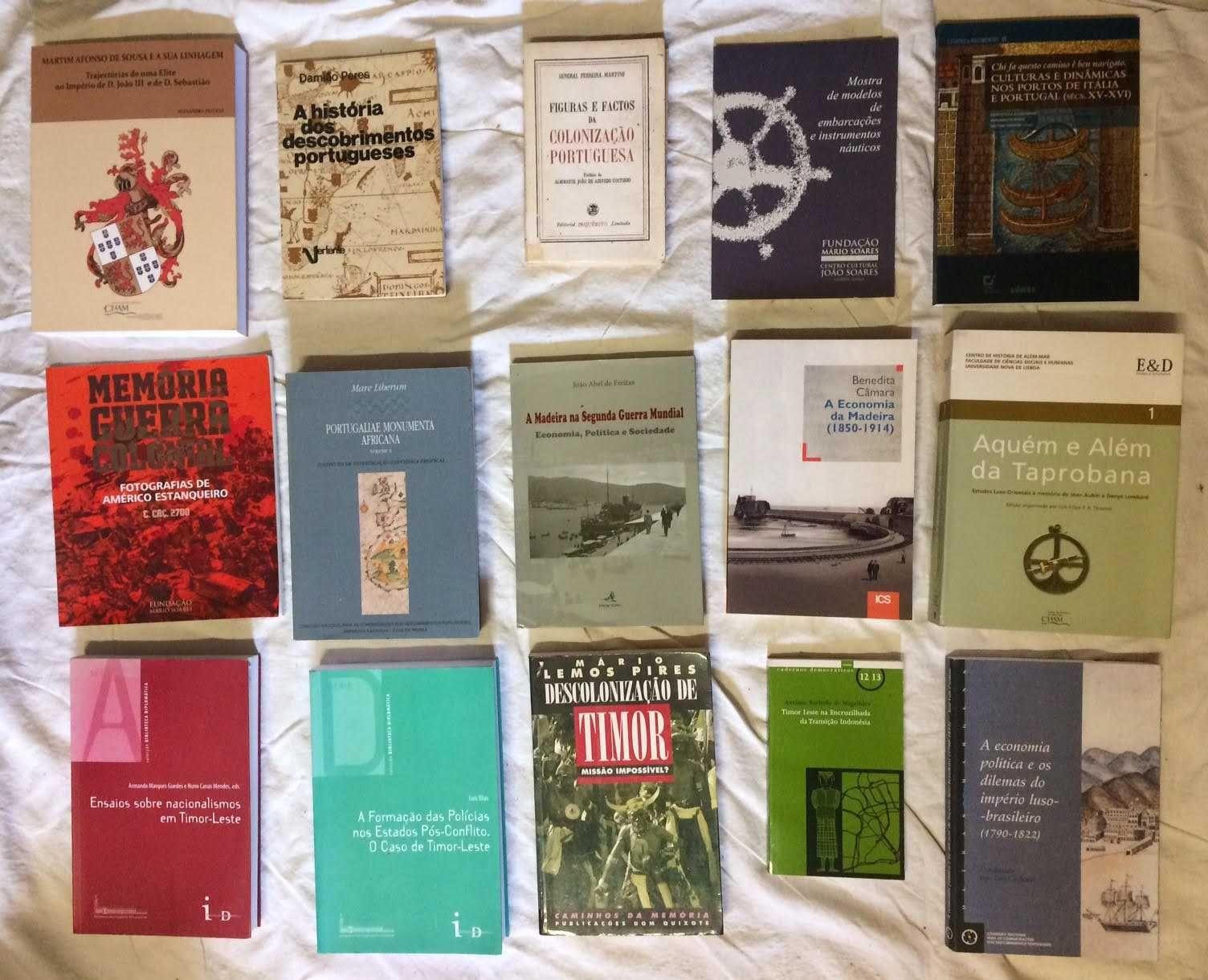 Livros História Política Militar Ultramarina e Diplomática de Portugal