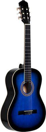 Gitara klasyczna Ever Play EV-128 4/4 niebieska