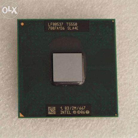 Intel Core 2 Duo T5200 + Intel Core 2 Duo T5550