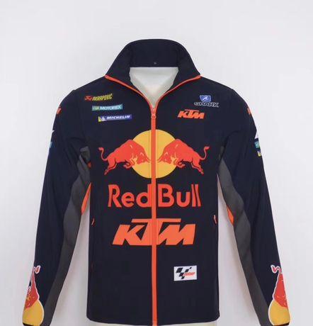 Kurtka sportowa Cross Red Bull KTM softshell motocyklowa akrapovic