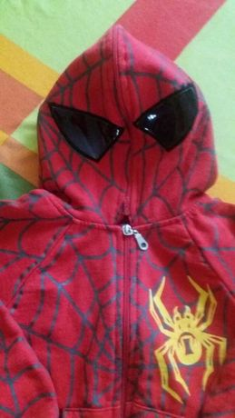 Bluza chłopięca SPIDER-MAN roz.92/*Stan bdb
