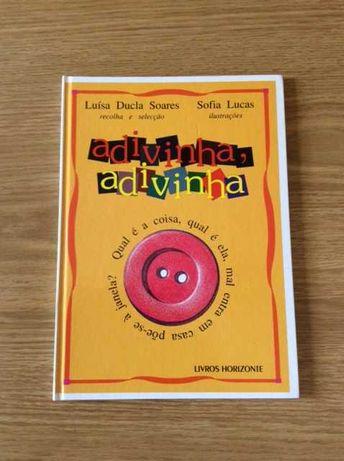 Livro - Luísa Ducla Soares *adivinha , adivinha*