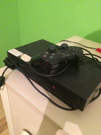 PlayStation 2 pad okablowanie + ponad 10 gier