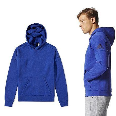 Bluza dresowa Adidas M i XL z kapturem BQ9691 męska Sportowa piłkarska
