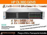 HP Proliant DL380 G9 | 48 x vCPU e 64GB DDR4 | Melhor preço do MERCADO