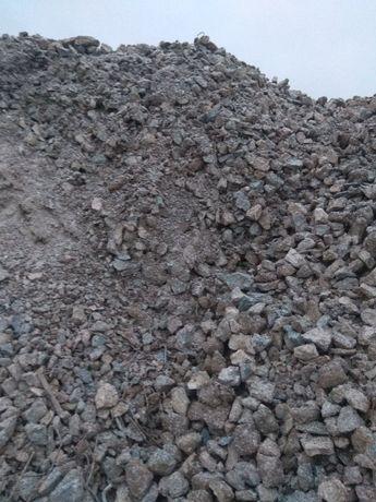 Gruz, przekrusz betonowy