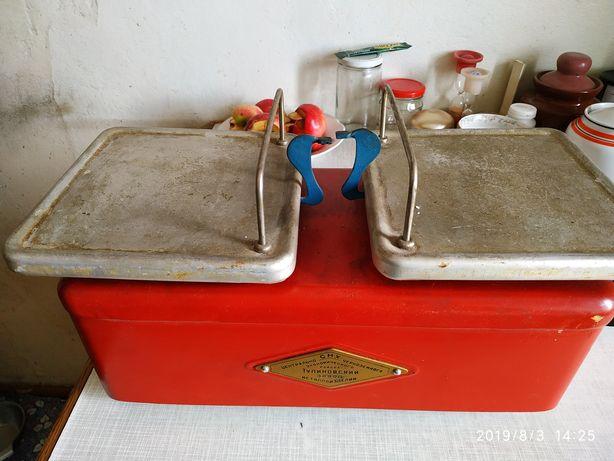 Весы ваги до 2 кг Тулиновский завод 1964 год стан нових комплект гирь