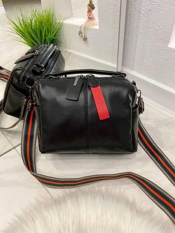 Женская кожаная маленькая сумка, жіноча сумочка, красивая практичная у