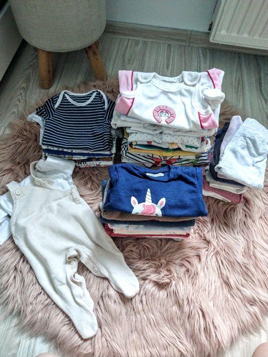 Paka ubranek niemowlęcych 53szt.(rozmiary 56-62) Rogoźno - image 1