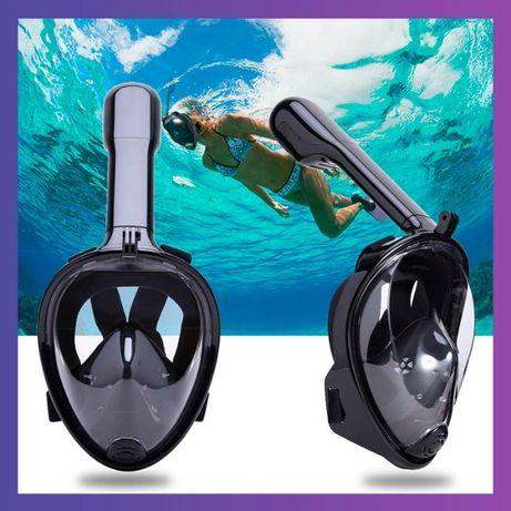 Маска для снорклинга подводного плавания FreeBreath ныряния под водой